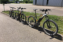 E-bikes for employees