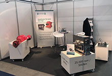 Exhibition at Automotive Testing Expo in Stuttgart